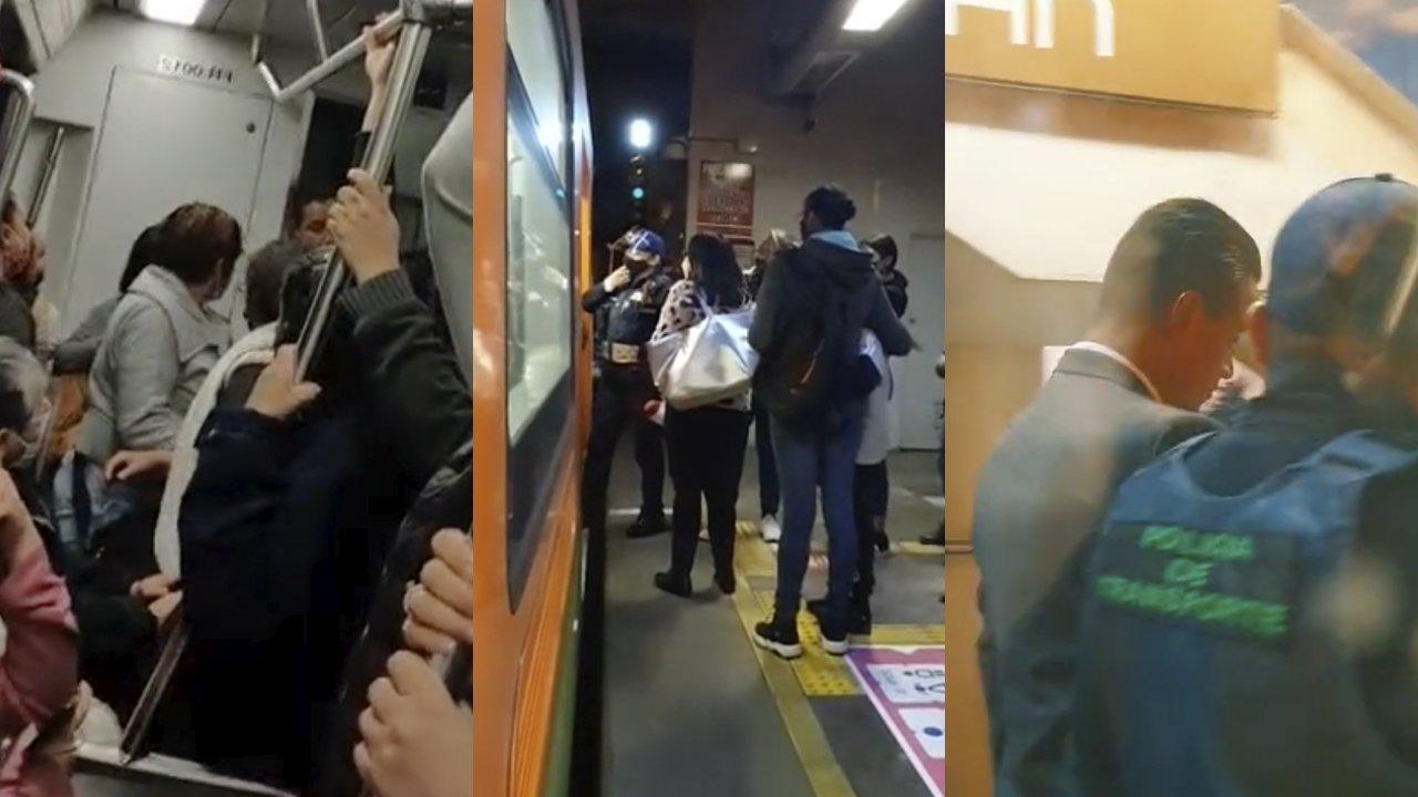 Acusan a conductor del metro teniendo sexo en cabina en CDMX