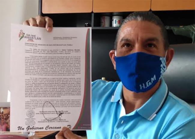 Habrá arrestos por no portar cubrebocas en San José Miahuatlán