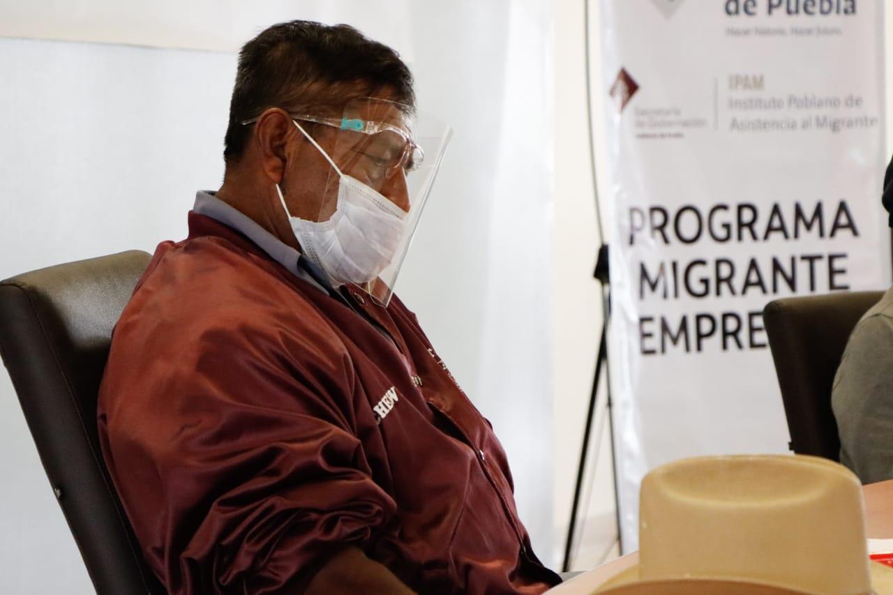 Capacita Segob a migrantes poblanos retornados para su reintegración social