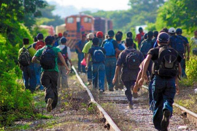 Huyen del INM los 155 migrantes rescatados en Nicolás Bravo