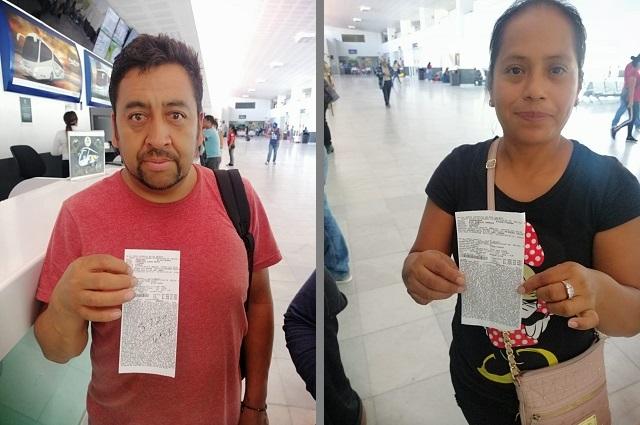 Ayuda Segob a 22 migrantes a volver a Puebla