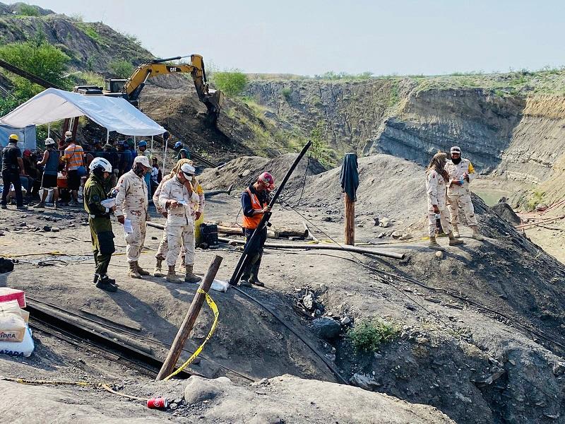 Tras rescate, va a investigación muerte de 7 mineros en Coahuila
