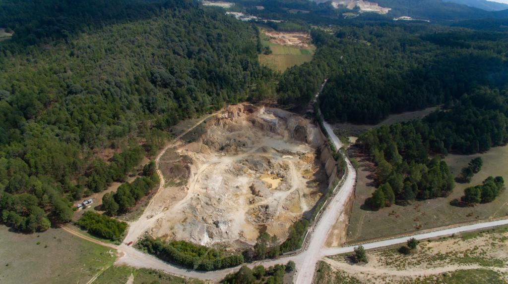 Minera devasta el campo y envenena el aire y agua de Zacatlán
