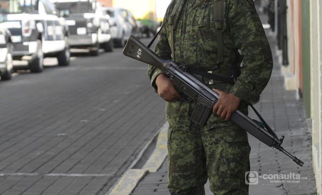 Militares vigilarán escuelas del Triángulo Rojo y darán pláticas: Gali