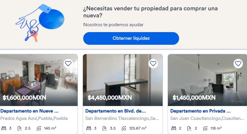 TrueHome: plataforma online con las mejores casas en venta en Puebla