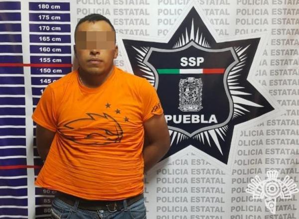 Cae Isidro, de la banda de El Moco, con 100 litros de gasolina en Chignahuapan