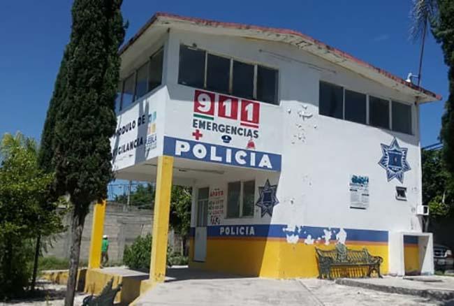 Módulo de seguridad recién inaugurado en Izúcar no funciona