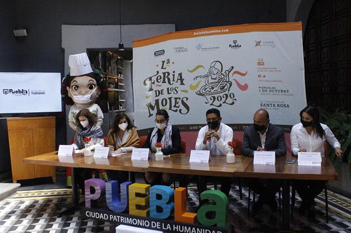 Por primera vez, la ciudad de Puebla será sede de la Feria de los Moles 2020