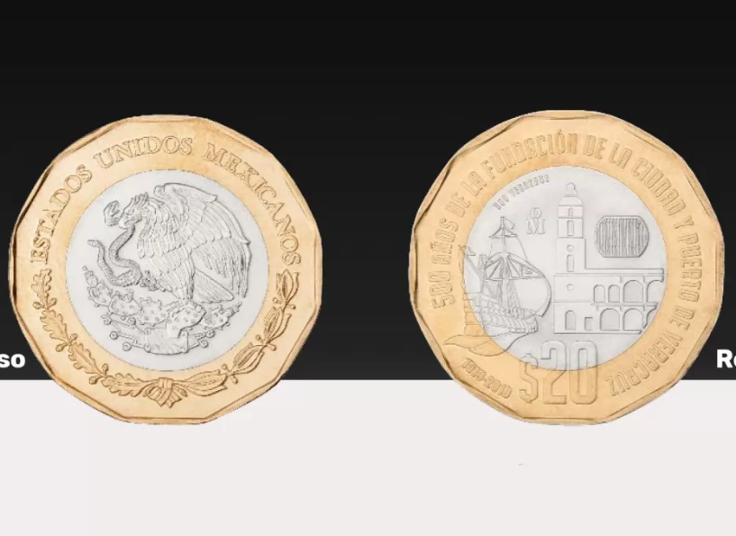 Hasta en 500 pesos revenden nueva moneda de 20 pesos