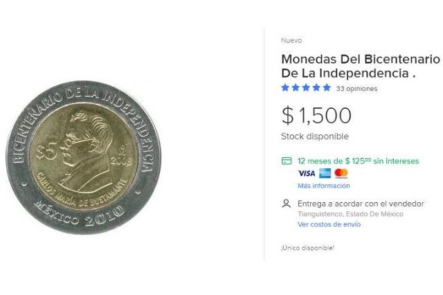 Te podrían pagar miles de pesos por tus monedas del Bicentenario