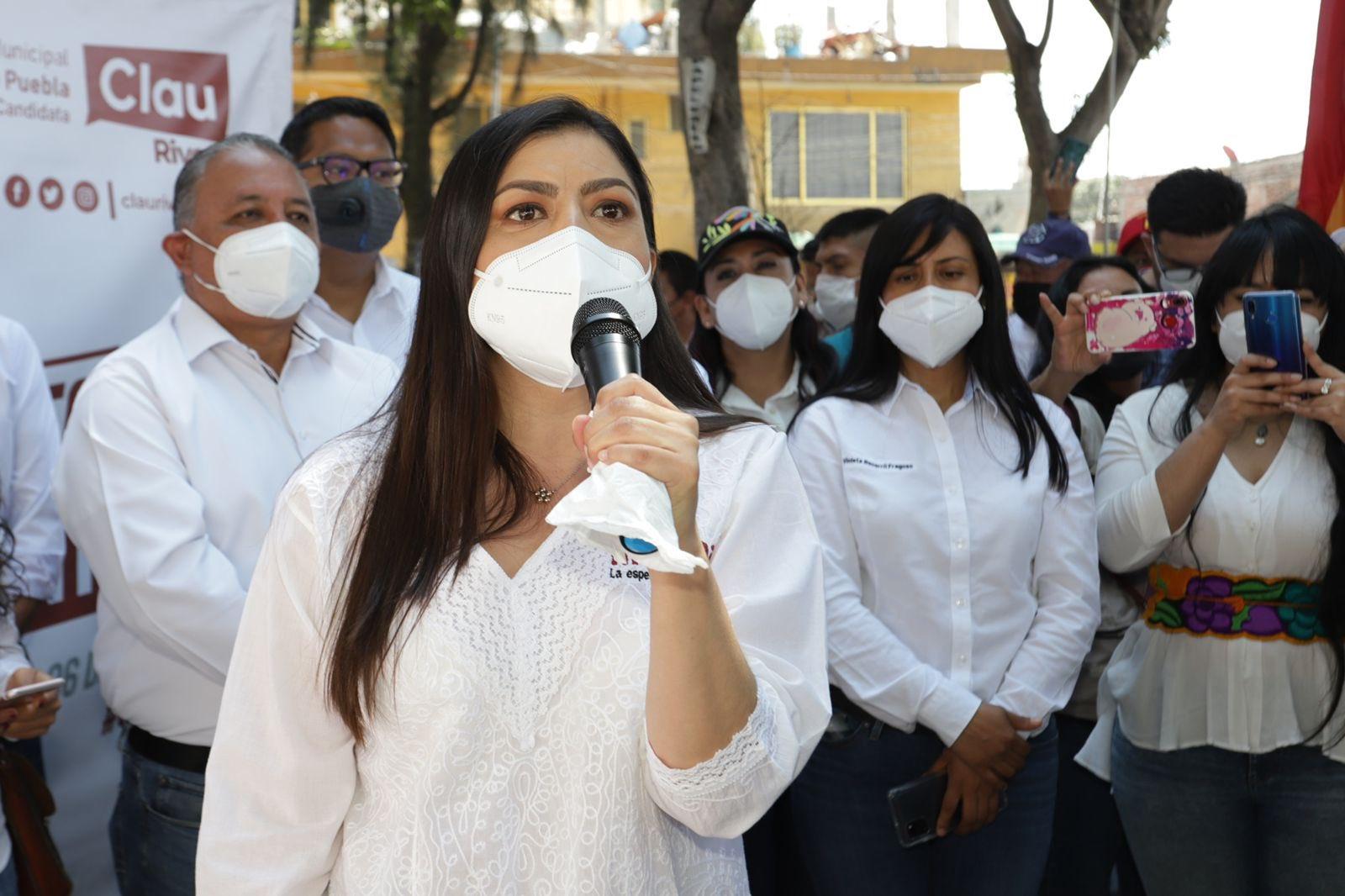 Confía Claudia Rivera en que TEPJF ratificará su candidatura