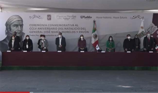 EN VIVO Barbosa encabeza ceremonia del  aniversario del natalicio de Morelos