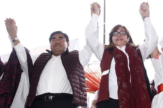 Yeidckol llamará a cuentas a ediles de Puebla y las Cholulas