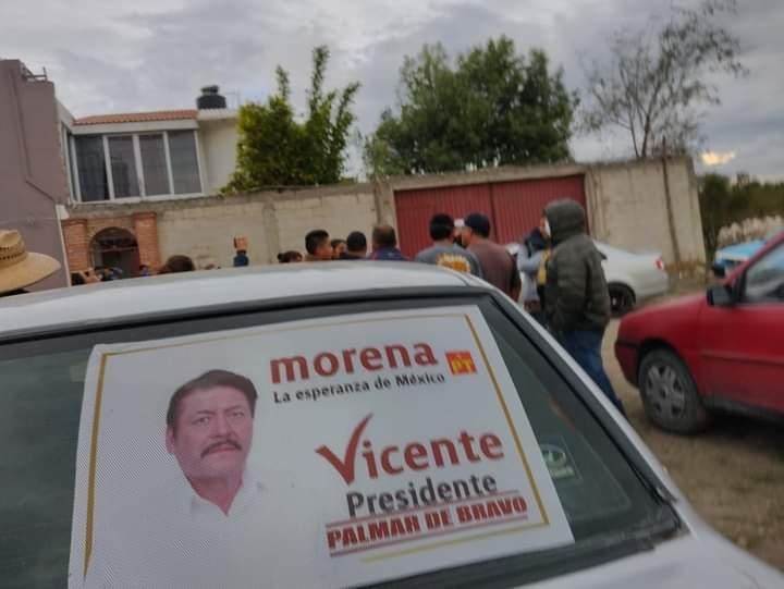 Zafarrancho en Cuacnopalan por compra de votos a favor de Morena