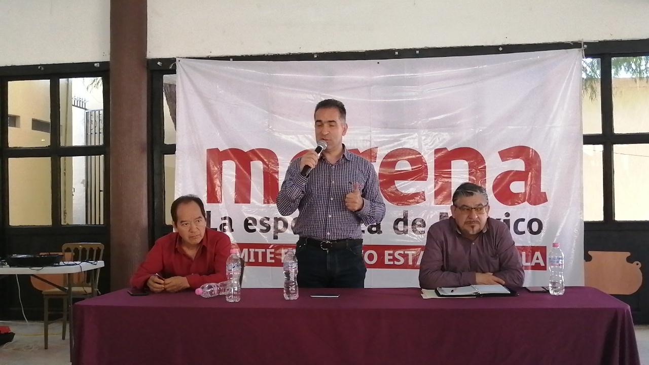 Revisará Morena trabajo de funcionarios en Tehuacán