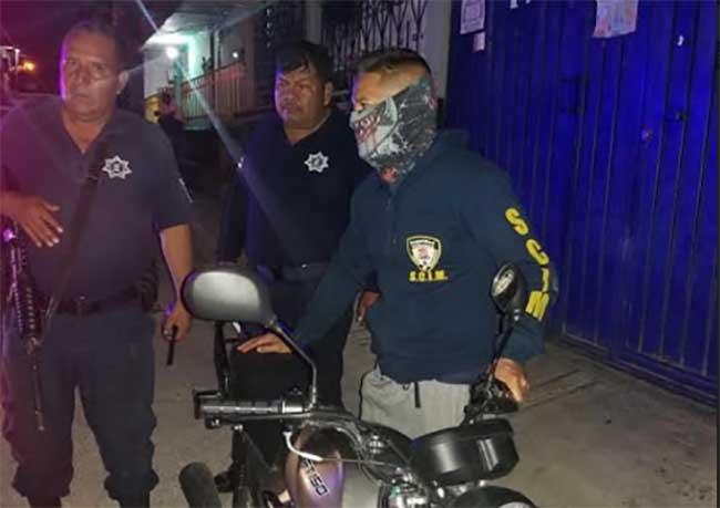 Seguridad Ciudadana recupera motocicleta robada en Izúcar