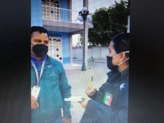 Vecinos vigilantes de Tlacotepec recuperan moto robada