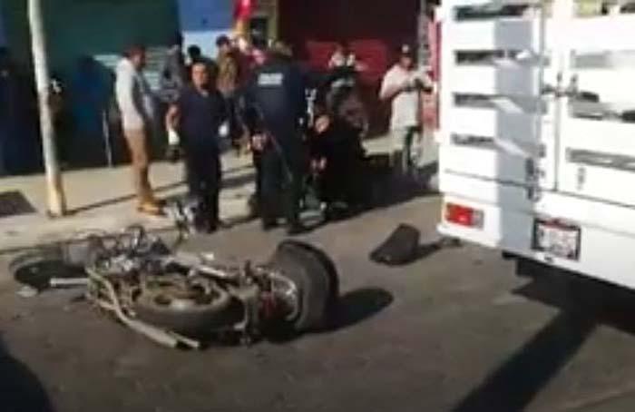 Se mata joven al derrapar su motocicleta en Atlixco