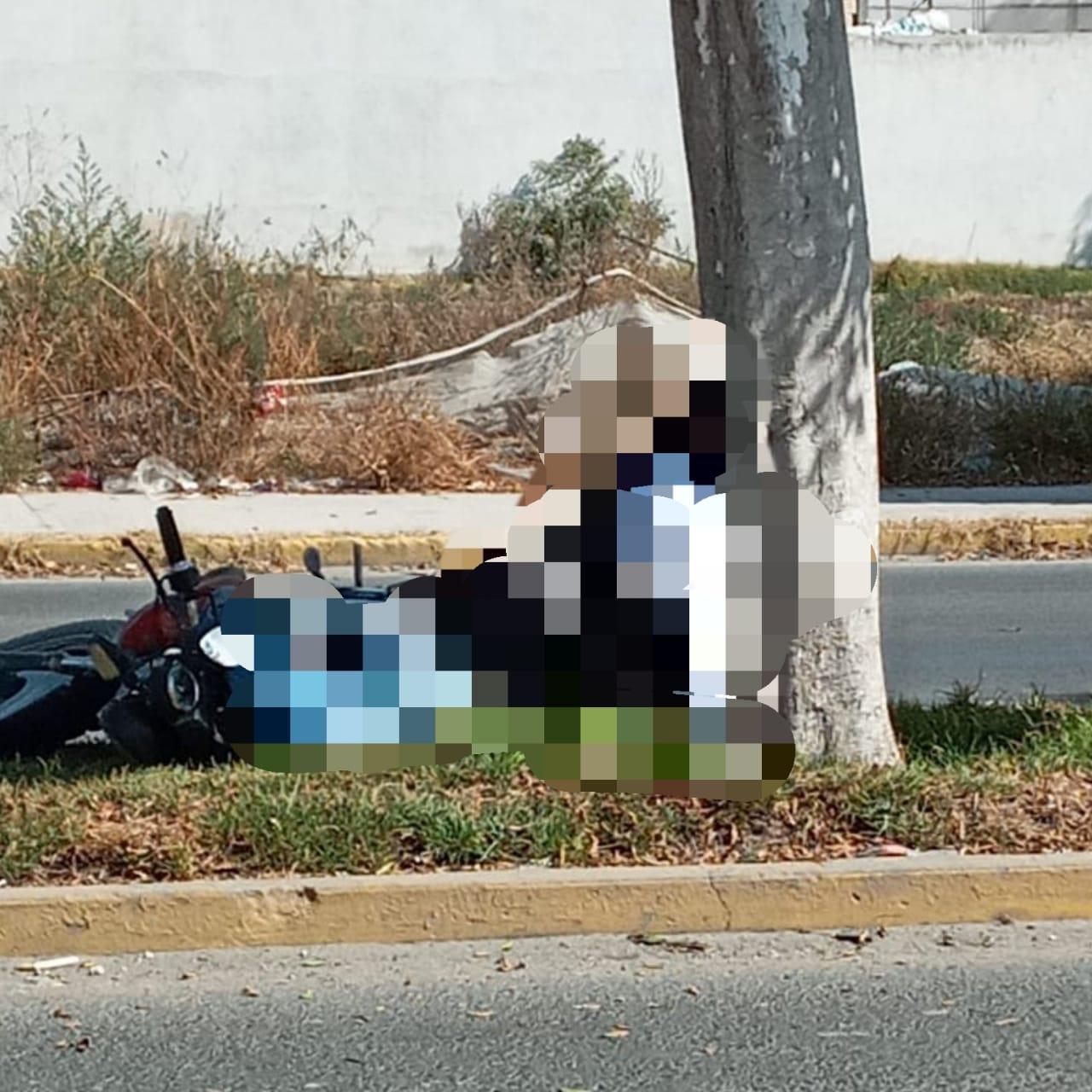 La mitad de llamadas de emergencia en Huixcolotla son por accidentes de motociclistas