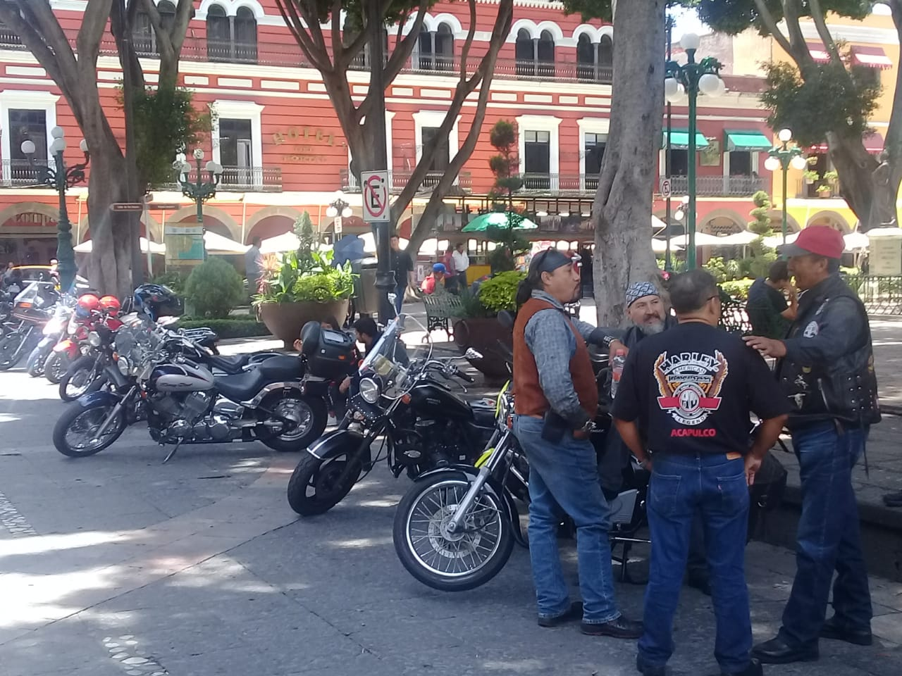 Reprochan motociclistas ser víctimas de extorsión de SSPTM