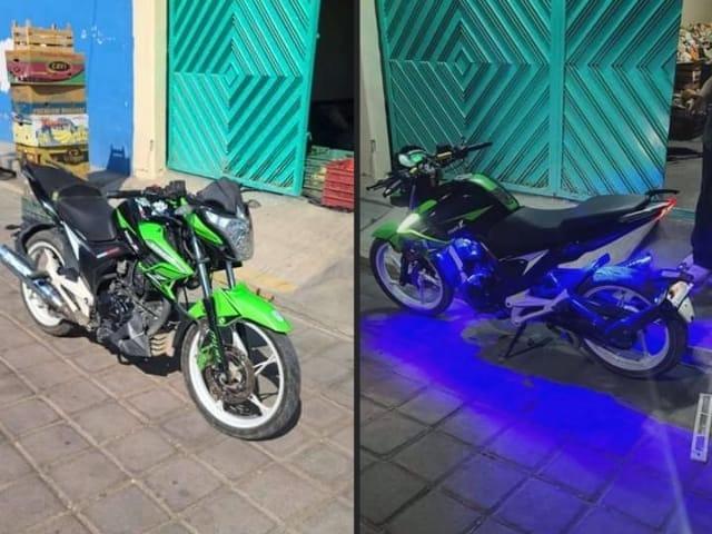Ofrecen cambio de motocicleta por tanque de oxígeno en Atlixco