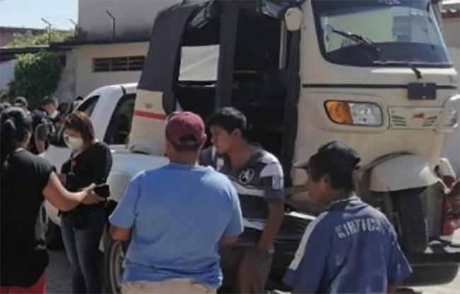 Amenazan con quemar unidades de la Secretaría Movilidad en Venustiano Carranza
