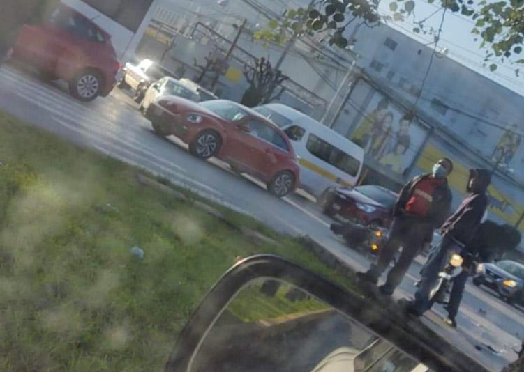 Mueren tamalero y motociclsta en accidentes viales en Puebla