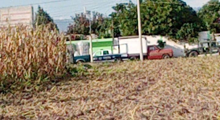 Alerta a vecinos de Texmelucan operativo del Ejército y Guardia Nacional