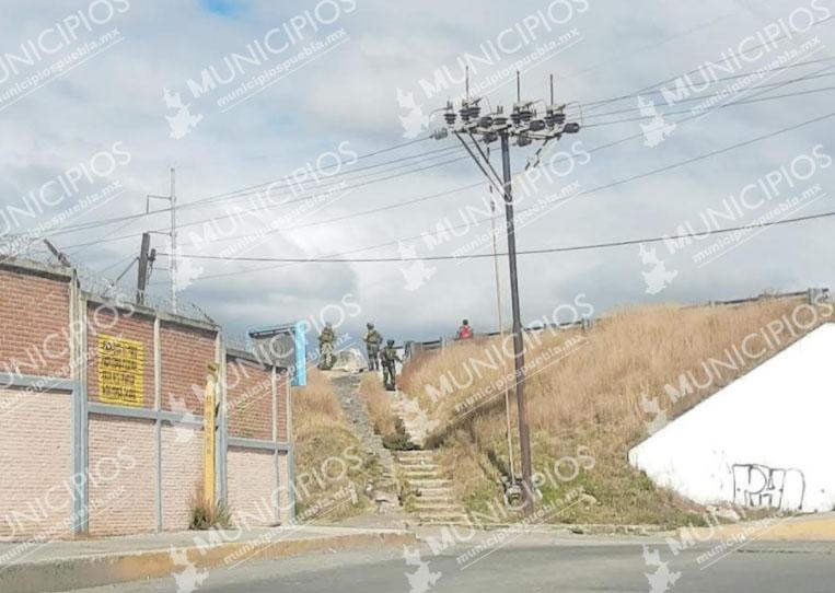 Balacera genera terror en vecinos de Moyotzingo en Texmelucan