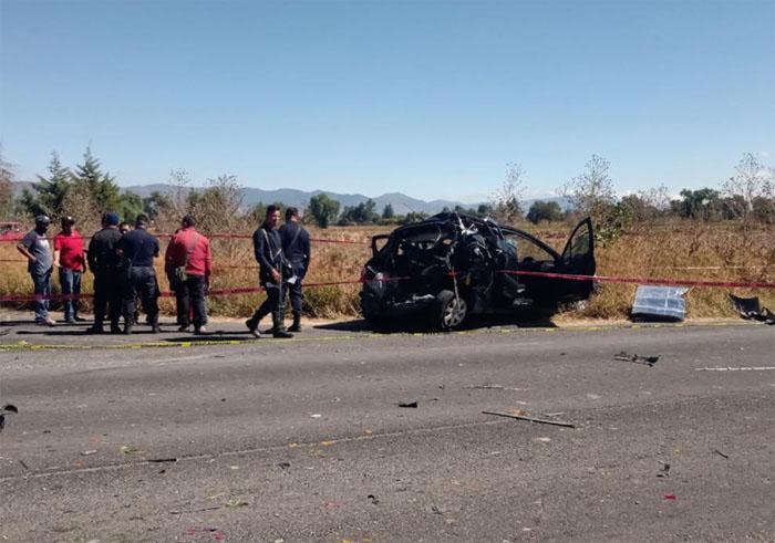 Muere niño en choque en la carretera Tochtepec-Pronase