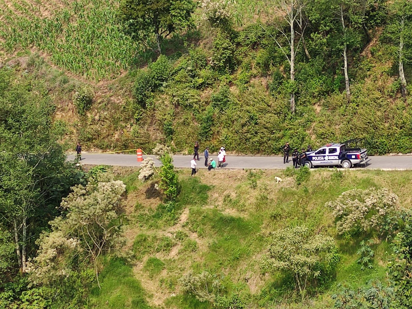 Encuentran a mujer muerta en barranca de Chiconcuautla