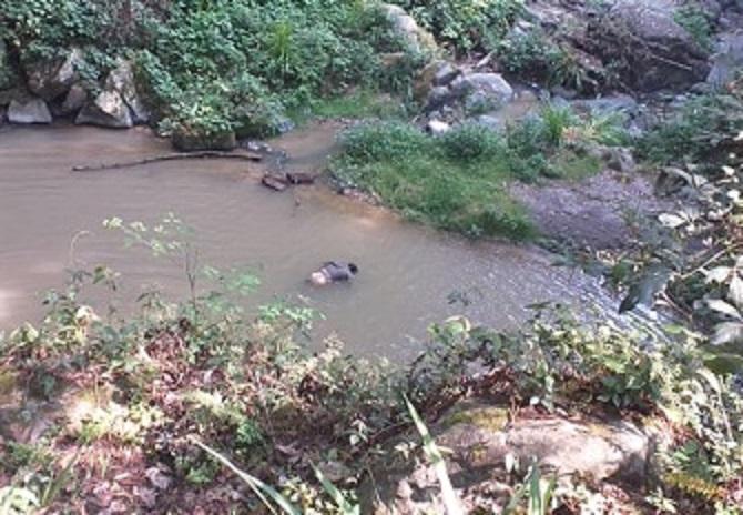 En un río, hallan cuerpo de vecino de Tlatlauquitepec
