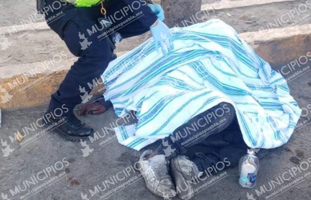 Fallece joven frente al mercado Morelos en Puebla