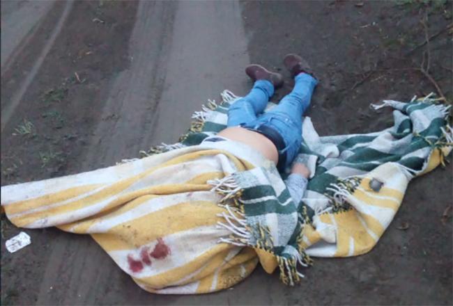 Hallan mujer encobijada y con tiro de gracia en Acatzingo