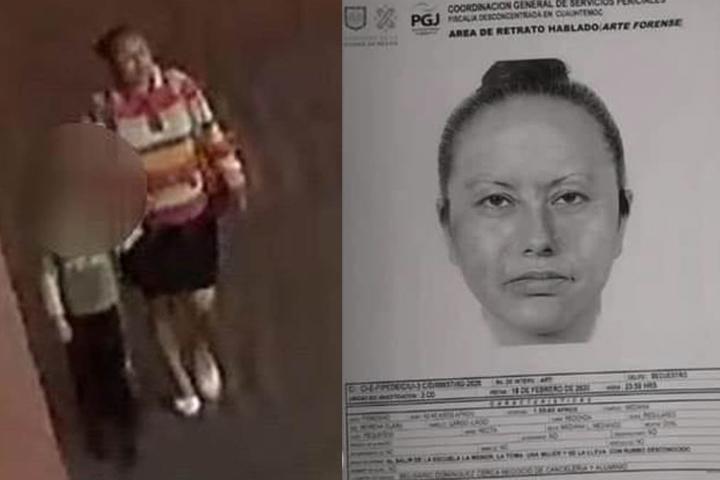 Vendía papitas en la escuela de Fátima y la raptó