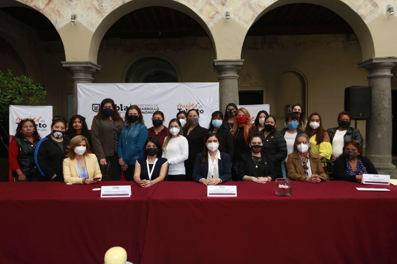 Ayuntamiento de Puebla incentiva inserción de mujeres trans en el mercado laboral