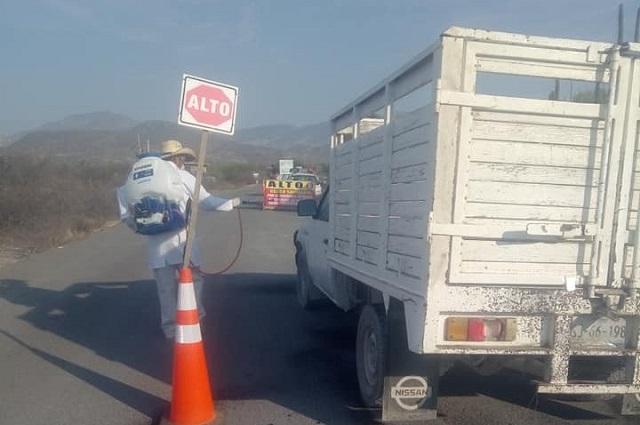 Santa Anta Teloxtoc la junta auxiliar libre de Covid-19 en Tehuacán