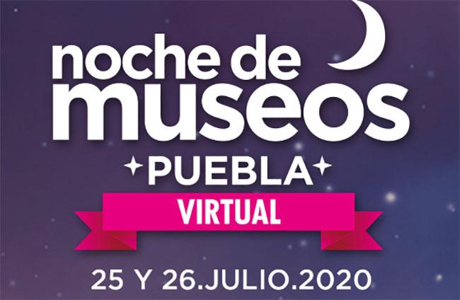 Puebla capital transmitirá la Noche de Museos Virtual este fin de semana