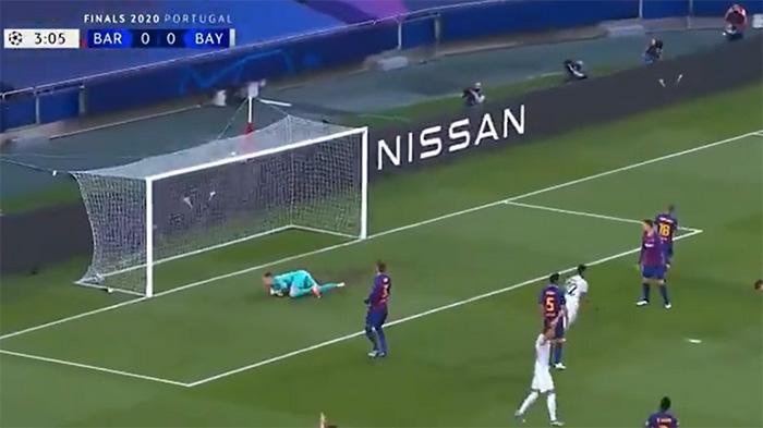 VIDEO Bayern Munich golea 8-2 al Barcelona con todo y Messi