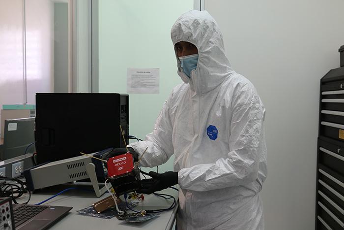 La NASA lanza el satélite poblano AztechSat-1