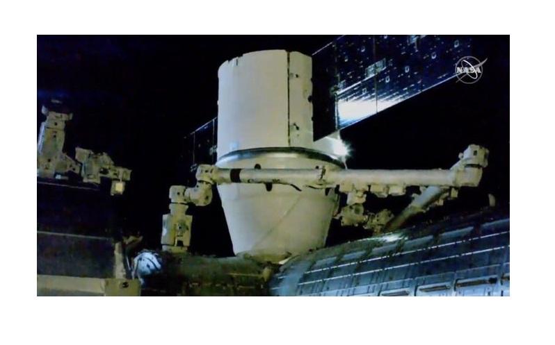 Nanosatélite poblano AztechSat-1 llega a la Estación Espacial Internacional