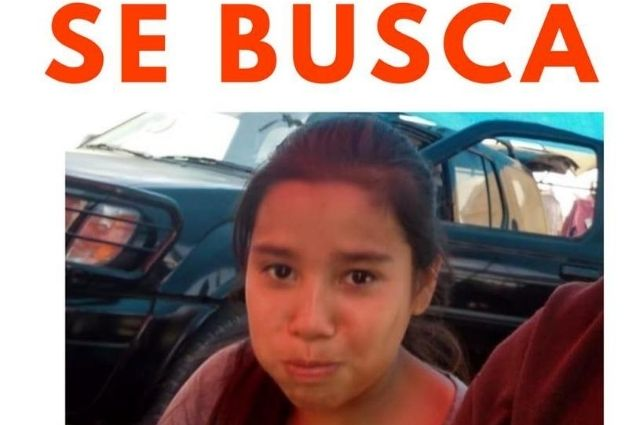 Desaparece Naomi de 11 años en Huejotzingo