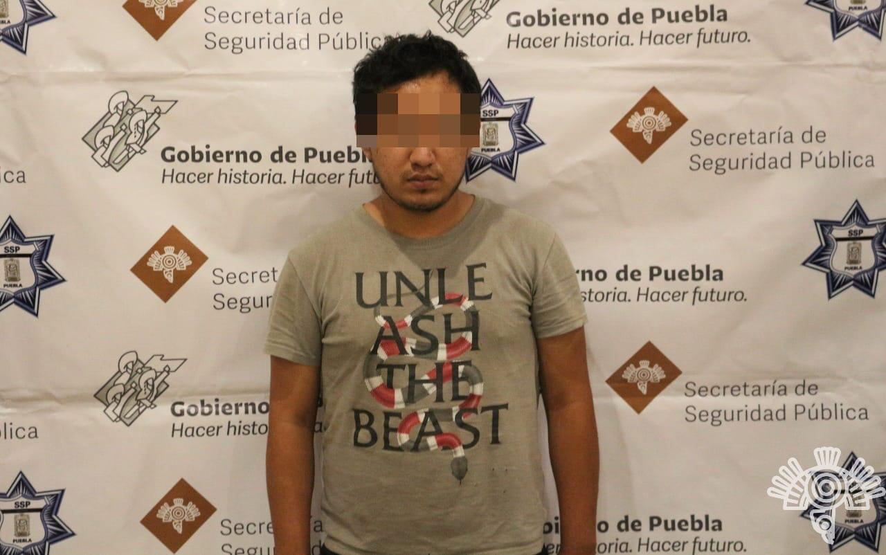 Detienen a El Solar: vendía droga en redes sociales en Puebla