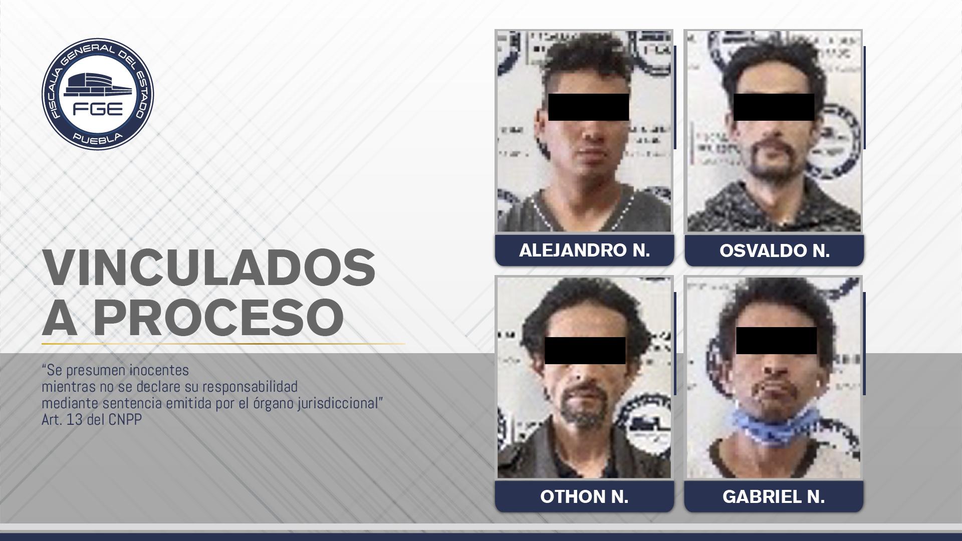Caen cuatro narcomenudistas durante un cateo en Puebla capital