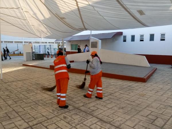 Restructuran rutas del servicio de barrido en calles de Puebla