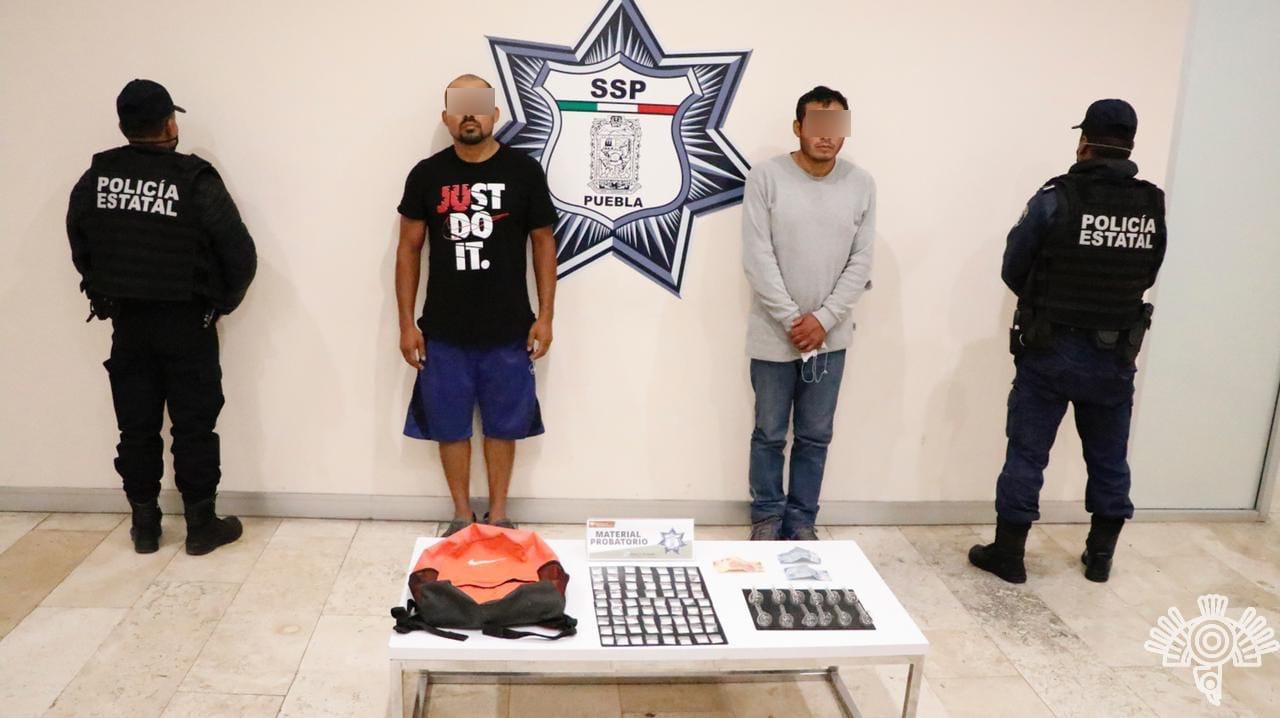 En taxi repartían droga vendida por internet en la Mixteca