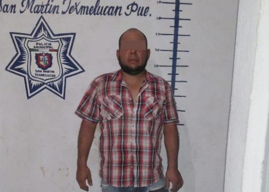 Por disparar al aire caen dos narcomenudistas en Texmelucan
