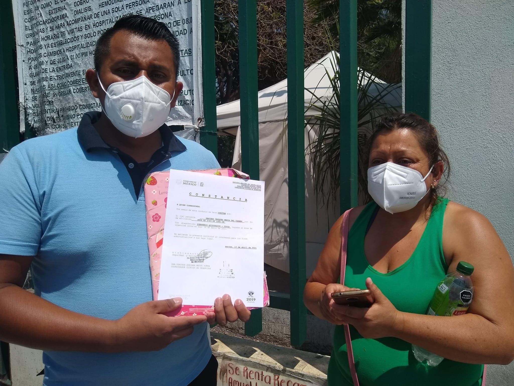 Acusan presunta negligencia médica en parto en el IMSS Tehuacán