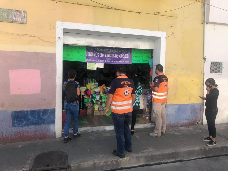 Preocupa a dueños de negocios en Atlixco cierre ante semáforo naranja