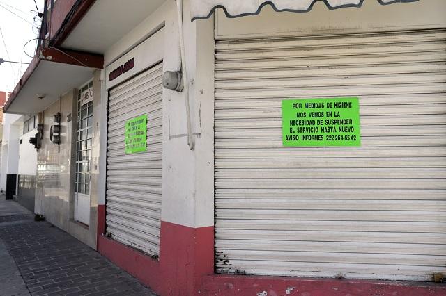 Ayuntamiento de Puebla prevé caída en recaudación por cobro de refrendo a negocios